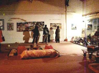 Burn Money, visites de l'exposition