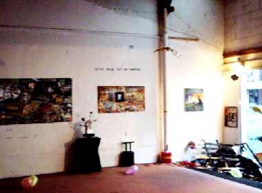 Burn Money, tableaux exposés