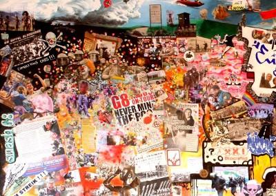 Heiligendamm : Acrylique sur toile, collages | 1/3