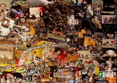 Heiligendamm : Acrylique sur toile, collages | 3/3