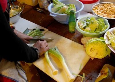 Exposition La Vie et Demie Atelier Cuisine