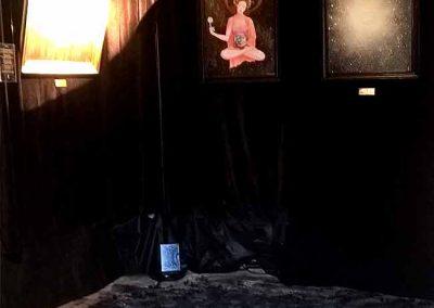 Exposition Sachô Galiero - salle noire
