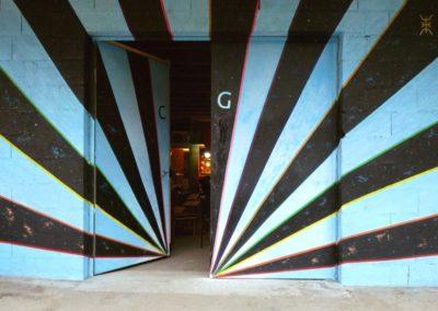 Fresque Tulle Underground porte