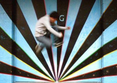 Fresque Tulle Underground - Flavien