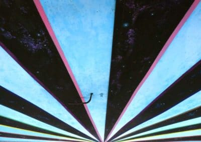 Fresque Tulle Underground - dessus